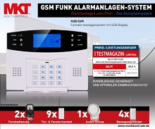 Multi Kon Trade GSM Alarmanlage Test