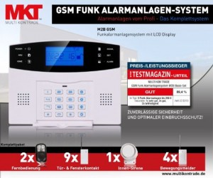 Multi-Kon-Trade-GSM-Funk-Alarmanlage-Test